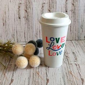 STARBUCKS | 2018 Valentine's Love Reusable Cup